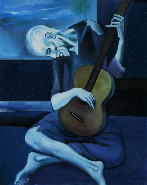 picasso paintings blue period guitar history 287 gt georgi gt flashcards gt ah 278 midterm