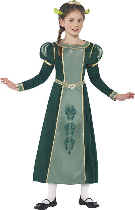 Dress Fiona princess fiona shrek costume tv book and