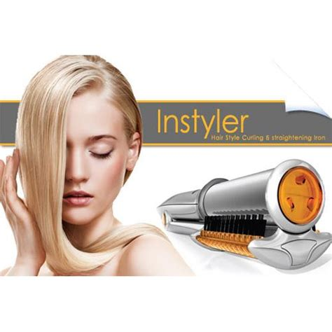 Instyler The Rotating Iron Catok Penggulung Rambut instyler rotating iron catok 2in1 yang berputar as seen