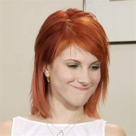 is hailey williams hair naturally red cinnamon red hair hayley william s hair photo 20709606