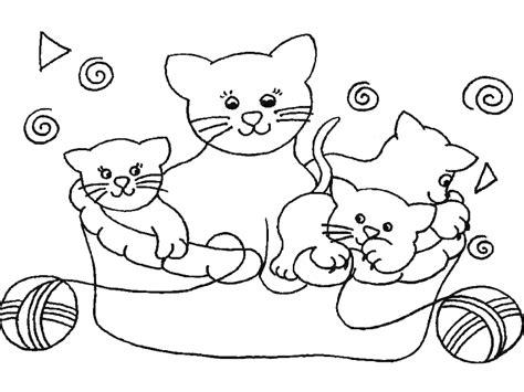 imagenes para colorear gato 260 dibujos de gatos para colorear oh kids page 25