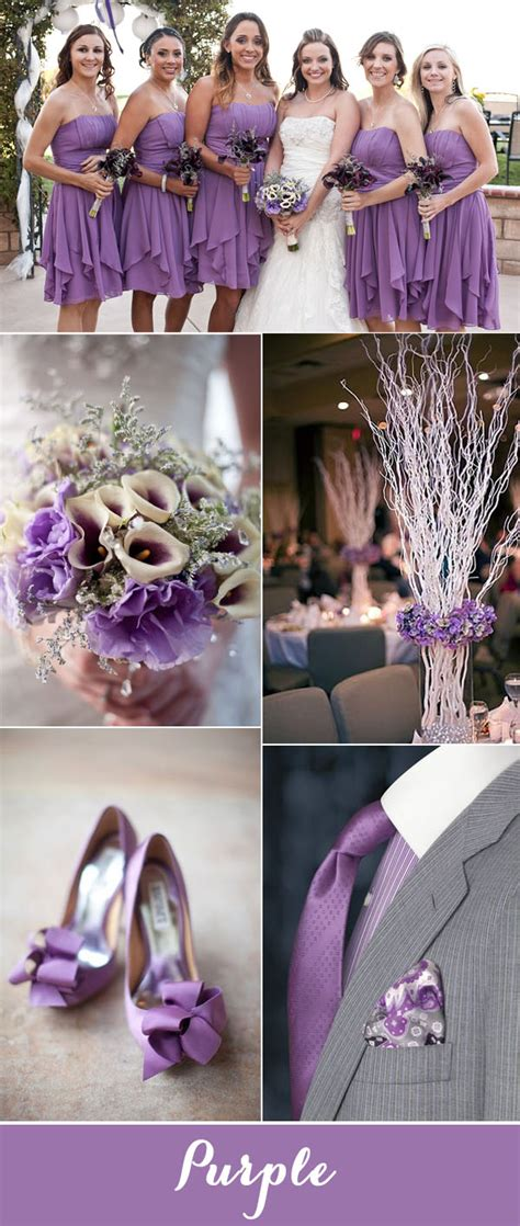 purple grey color top 7 purple and grey wedding color palettes for 2017
