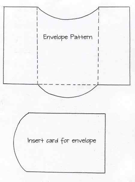 Envelope And Card Insert Template Templates Pinterest Product Insert Card Template