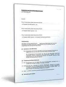 Mahnung Gesamtschuldner Muster 196 Nderungsvereinbarung Zur Aufnahme Eines Mieters Muster Vorlage Zum