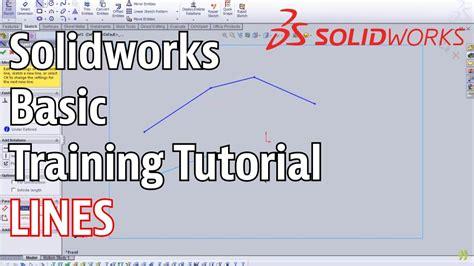 solidworks tutorial uk solidworks basic training line tutorial doovi