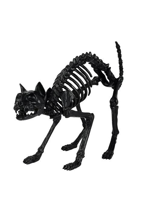 Skeleton Rantai Black 1 black skeleton cat prop