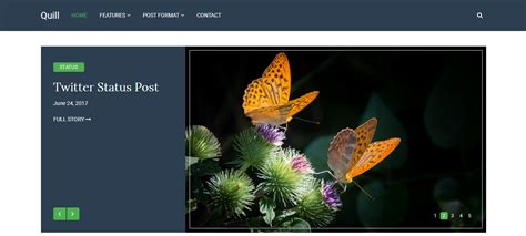 theme wordpress quill quill blog wpfriendship