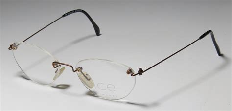 new 3 51 18 140 rimless drill mount eyeglass frame