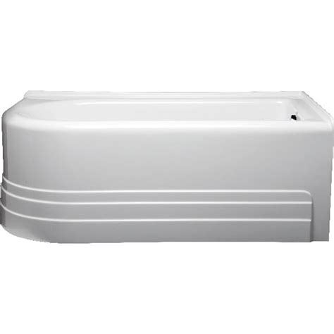 americh bow 6032 right handed tub 60 quot x 32 quot x 21 quot free