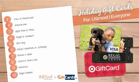 Top Gift Card Sites - top 5 gift cards of the holiday season gift card girlfriend
