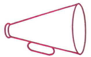 Megaphone Outline Embroidery Design by Megaphone Outline Clipart Best