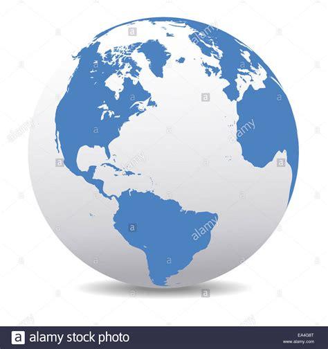america world earth icon globe map stock photo