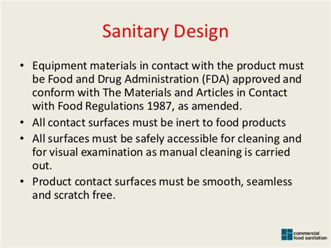 design guidelines for the control of blowing and drifting snow sanitary design an introduction to standards of design