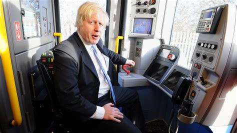 london by tube over boris not interested in staring match over tube launch london itv news