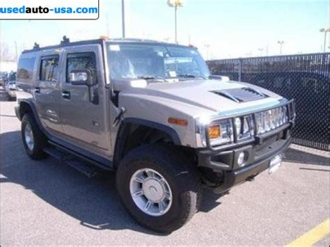 for sale 2007 passenger car hummer h2 suv sterling