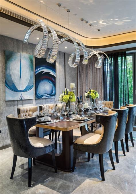 variety  gorgeous lighting  luxurious dining rooms
