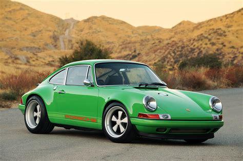 porsche 911 green singer racing green porsche 911 porsche mania