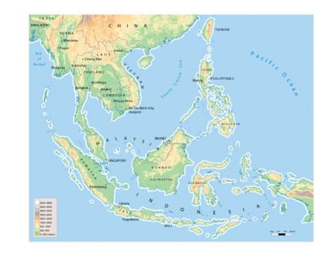 southeast asia geography map an introduction to the geography of southeast asia asian