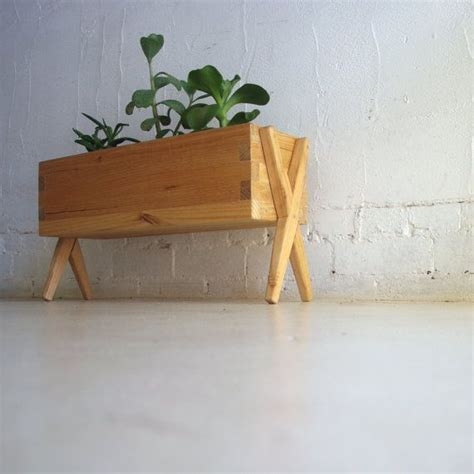 wooden planter box indoor or outdoor made from by