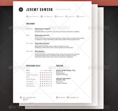 27 stylish resume templates vandelay design