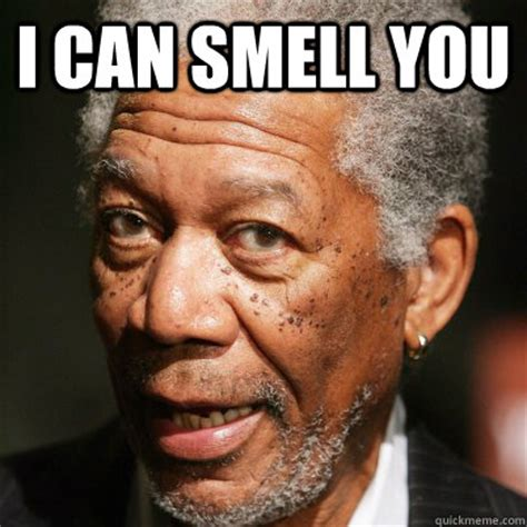 Can I Meme - i can smell you how i currently picture morgan freeman