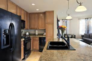 kitchen ideas with black appliances hochwertige baustoffe kitchen design ideas black appliances