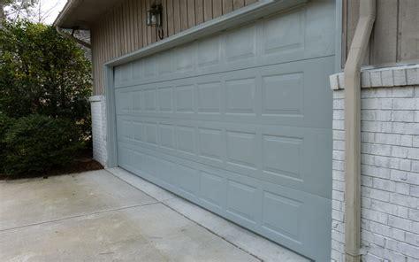 Painting The Garage Door Diy Home Staging Tips Diy Project Overhead Garage Door Re Paint