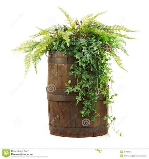 stock fiori artificiali composizione dei fiori artificiali in vecchio barilotto di