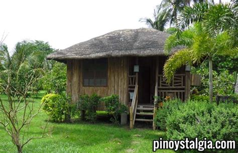 simple native house design pinoystalgia the philippines through the years