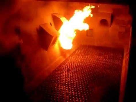 cfbc boiler start  burner  firing  commissioning youtube