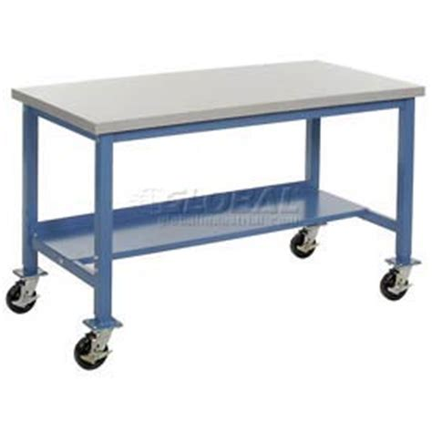 mobile work benches mobile work bench fixed height mobile heavy duty