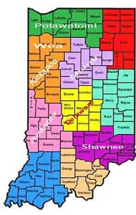 indian tribes in map indiana indian tribes aaa arts