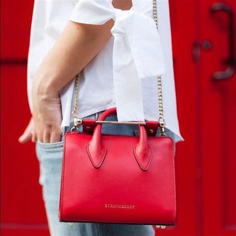gorgeous red suitcases 21 best strathberry images on pinterest totes bags and