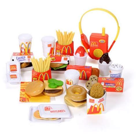 Set Mc K mcdonalds play food set walmart