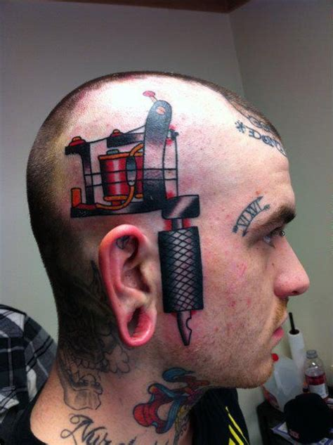 3d tattoo of mouth on head 3d tattoo machine on side of head cool tattoos online