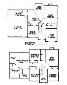 4 bedroom house plans 2 story two story house plans home design ideas two story house