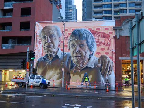 grandparents  smug  melbourne streetartnews