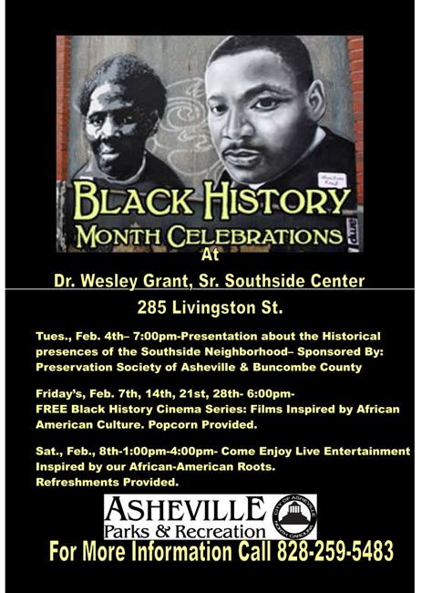 black history month colors black history month events the color of asheville