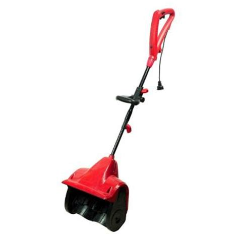 small snow blowers home depot powersmart 13 in electric snow blower db5004 the home depot