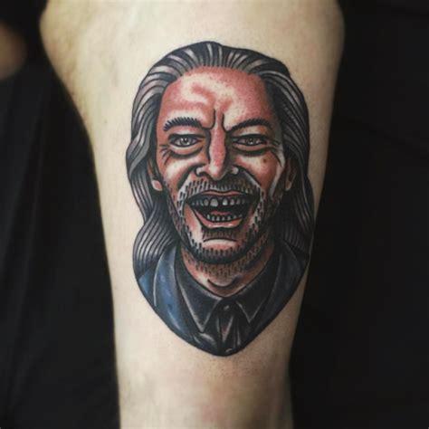 twin peaks tattoo peaks on