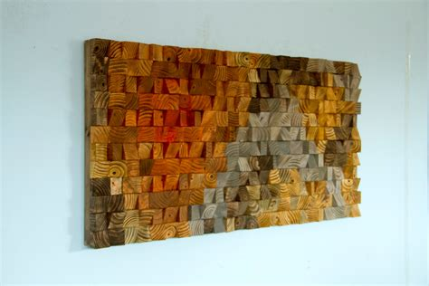 wall paintings large rustic art wood wall sculpture abstract painting