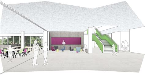 foyer grundriss gebr 252 der grimm grundschule 171 martin architektur