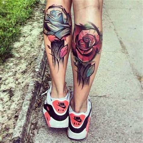 tatuagens na canela fotos desenhos imagens dicas