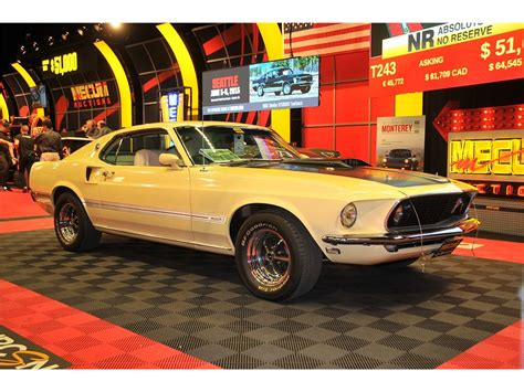 1967 ford mustang premium auction database american car collector 1969 ford mustang mach 1 premium auction database american car collector