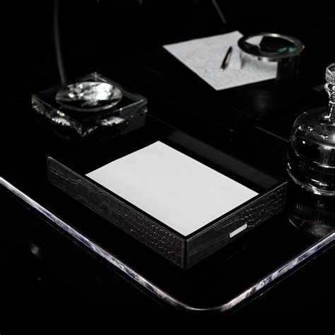 Luxury Desk Accessories Ralph Letter Tray Luxury Desk Accessories Desk Sets Hotel Desk Accessories Office Desk