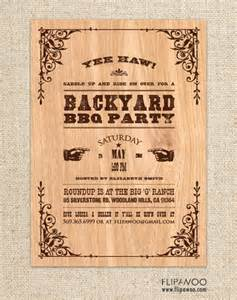 free western invitation templates western themed invitations personalized invitations and