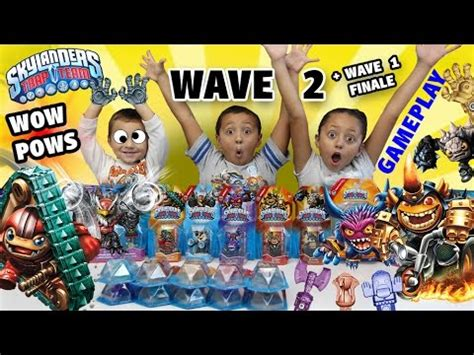 T Shirt Kaos Last On Earth skylanders trap team wave 2 mega unboxing wow pow