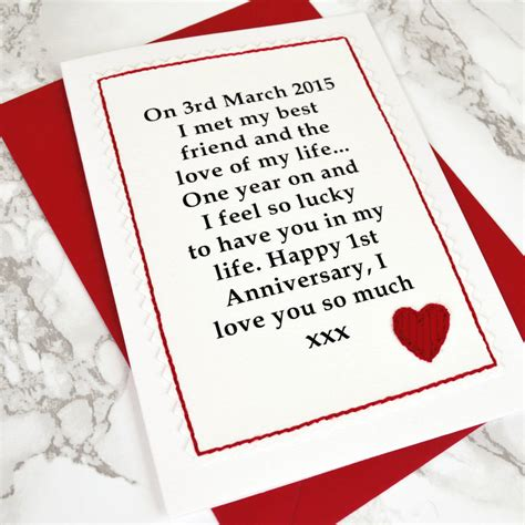 Ask Styledash Gift For Our 3rd Anniversary by When We Met Anniversary Card By Arnott Cards