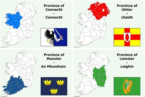 provinces  ireland information  history