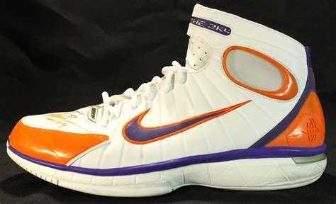 2k4 huarache basketball shoes sports memorabilia auction pristine auction